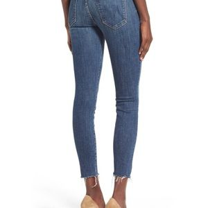 Mother Looker Ankle Fray Girl Crush Jeans 26